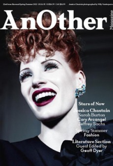 Jessica Chastain Channels Lucille Ball for AnOther Magazine (Forum Buzz)