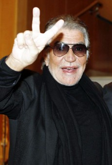 Roberto Cavalli is Exceptionally Emotional Today, Even for Him