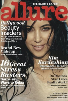 Kim Kardashian Goes the Natural Beauty Route on Allure's March Cover (Forum Buzz)