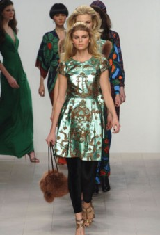 Issa London Fall 2012 Runway Review
