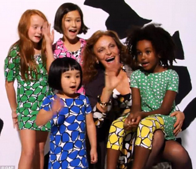 DVF for Gap Kids
