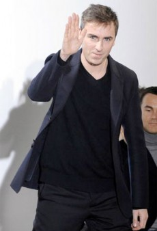 Raf Simons is Leaving Jil Sander — Is He Going to YSL or to Dior?