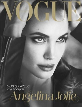 Angelina Jolie Vogue Turkey