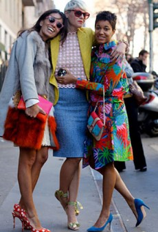 Fashion Editor Street Style: Milan Fashion Week Fall 2012 (Forum Buzz)