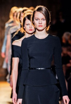 Roland Mouret Fall 2012 Runway Review