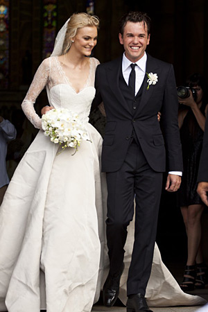 Caroline Trentini Fabio Bartelt wedding