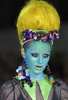 25 Craziest Beauty Looks from Fall 2012