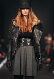 Toronto Fashion Week: Mackage Fall 2012