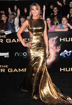 Jennifer Lawrence in Prabal Gurung at 'The Hunger Games' Premiere (Forum Buzz)