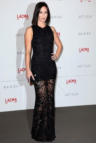 Emily Blunt LACMA Art And Film Gala Los Angeles Nov 2011 cropped