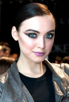Backstage Beauty Access: World MasterCard Fashion Week