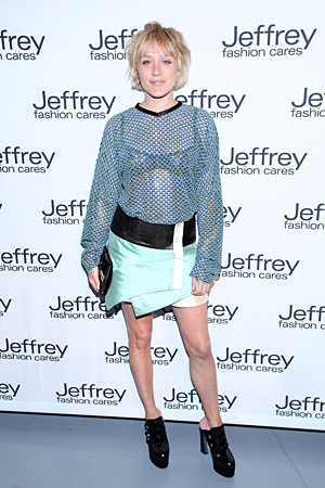 Chloe Sevigny at Jeffrey Fashion Cares