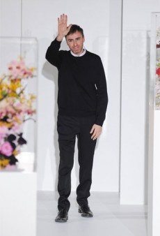 Confirmed! Raf Simons is Headed to Dior