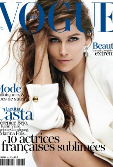 Laetitia Casta Covers Vogue Paris' Fresh May Issue (Forum Buzz)