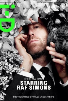 Raf Simons Covers i-D's Summer 2012 Issue (Forum Buzz)
