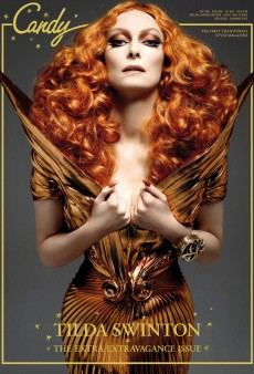 Tilda Swinton's Candy Cover (Forum Buzz)