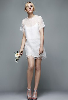 Richard Nicoll's Unconventional Topshop Bridal Looks