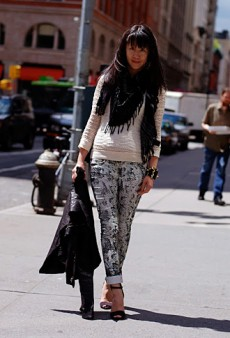 Forum Street Style: Pairing Pants With Heels