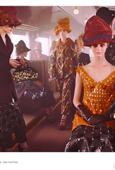 Louis Vuitton's Fall 2012 Fashion Train (Forum Buzz)