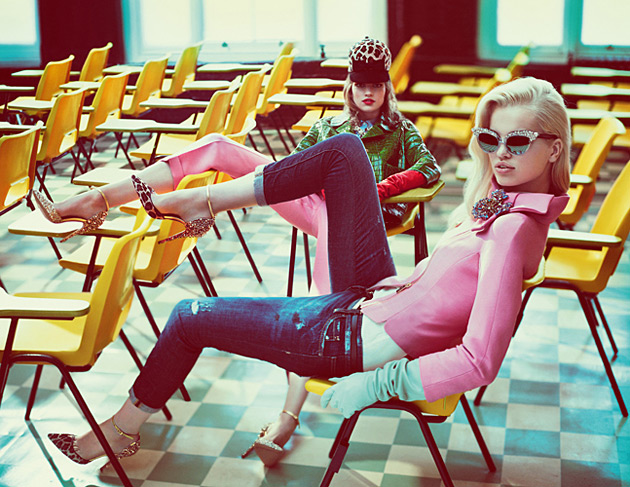 DSquared2 Fall 2012 ad campaign