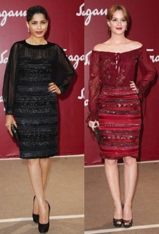Style Showdown: Leighton Meester and Freida Pinto Face Off in Ferragamo