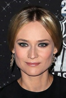 Look of the Day: Diane Kruger's Semi-Sheer Alessandra Rich Dress