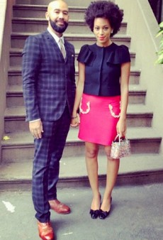 Solange Knowles' Date Night and Other Celeb Twitpics of the Week