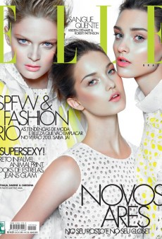 Elle Brazil's Refreshing Citrus-Hued July Cover (Forum Buzz)