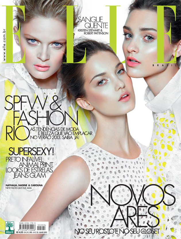 Elle Brazil July 2012 cover