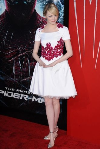 Emma Stone Los Angeles premiere of The Amazing Spider-Man June 2012 cropped