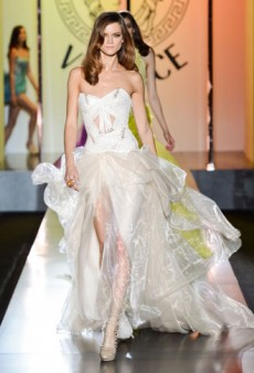Versace Haute Couture Fall 2012 Returns to the Ritz, Debuts New Jewelry Line