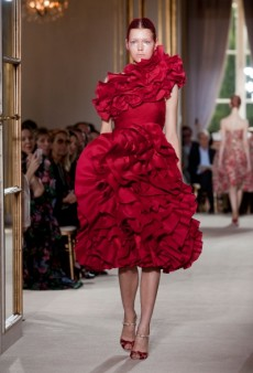 Giambattista Valli Haute Couture Fall 2012: Botanicals and Signature Ruffles on Display