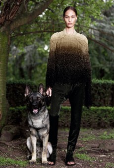Givenchy Haute Couture Fall 2012: Tisci Goes Gothic Once Again
