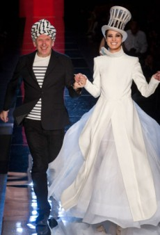 Jean Paul Gaultier Haute Couture Fall 2012: Male Models and Too Many Frills
