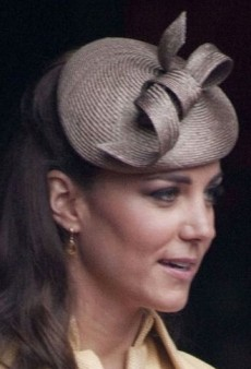 Look of the Day: Catherine, Duchess of Cambridge Looks Regal in Emilia Wickstead