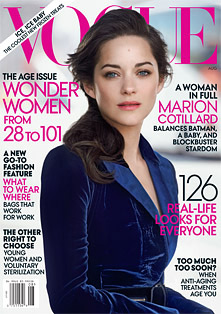 The Verdict on Marion Cotillard's August Vogue Cover? Gorgeous But Boring (Forum Buzz)