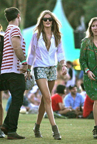 Rosie Huntington-Whiteley Coachella
