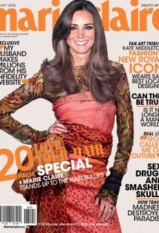 Kate Middleton Gets Photoshopped Onto the Cover of South African Marie Claire (Forum Buzz)