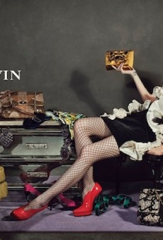 No Models Allowed in Lanvin's Fall 2012 Campaign