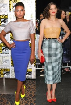 Not-So-Prim Pencil Skirts: 3 Celeb Looks to Try
