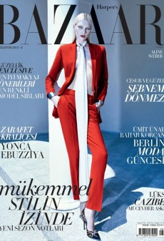Harper's Bazaar Turkey Trumps Vogue Turkey in the August Cover War (Forum Buzz)
