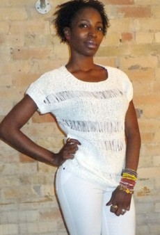 Fashion Challenge: Head-to-Toe White for Day