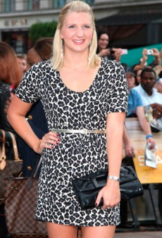British Olympian Rebecca Adlington Loves Her Fashion