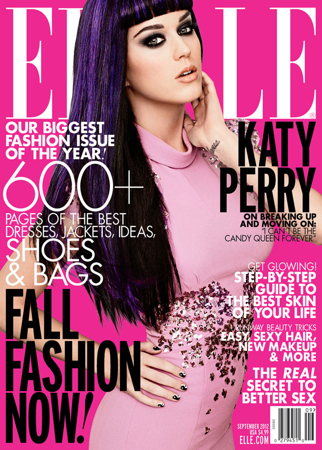Elle September Issue - Katy Perry