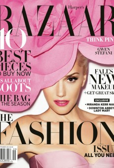 Gwen Stefani Covers Harper's Bazaar's September Issue (Forum Buzz)