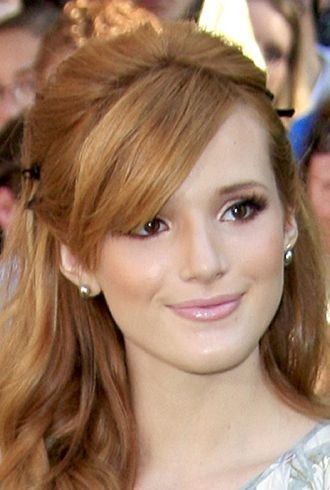 Bella Thorne World Premiere of The Odd Life of Timothy Green Los Angeles cropped