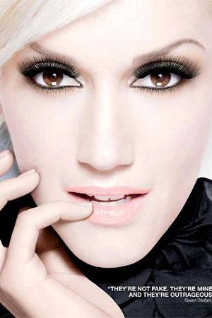 Gwen Stefani L'Oreal mascara ad