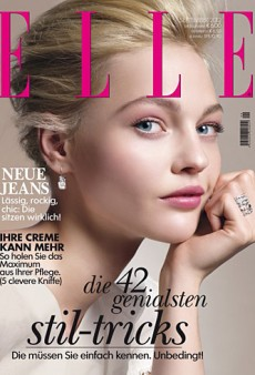 Elle Germany Recycles an Old Tiffany & Co Ad for their September Issue Cover (Forum Buzz)