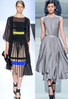 Pleats Please: Romantic Accordion Pleats for Fall 2012