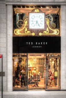 The British Are Coming! Ted Baker Invades Fifth Avenue: The Cannon Canon